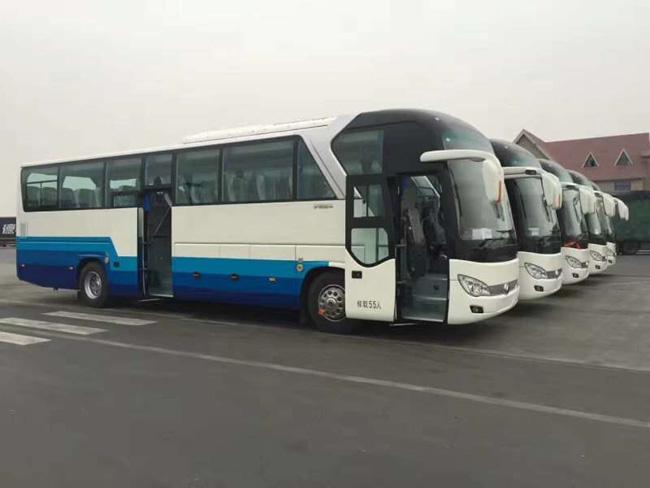 新款55座大巴车租赁